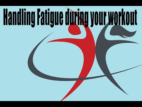 How to fight fatigue during your workout