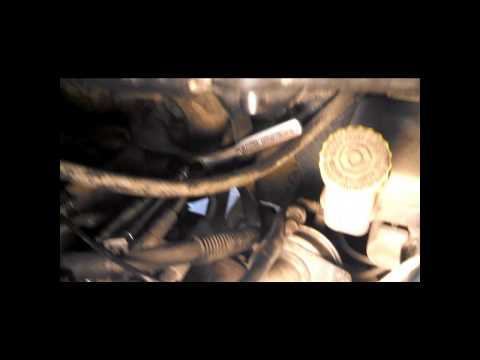 How To Remove Power Steering Reservoir On 2005 Chrysler Town & Country To Clean Out Screen