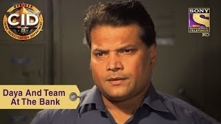 Your Favorite Character | Daya And Team At The Bank | CID