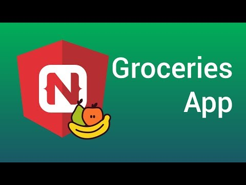 NativeScript and Angular: Groceries Application (Part 1)