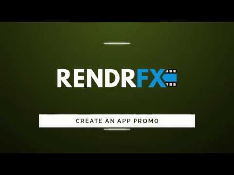 Create An App Promo Video - RendrFX
