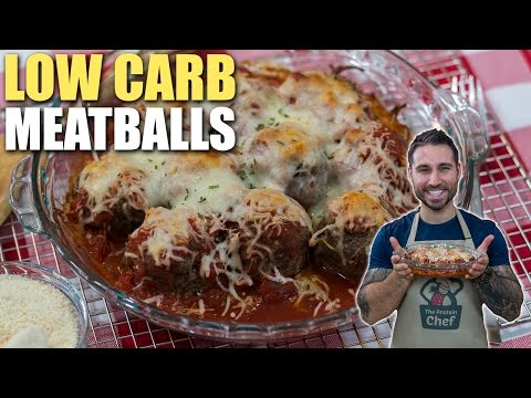 DELICIOUS LOW CARB PARMESAN MEATBALLS RECIPE