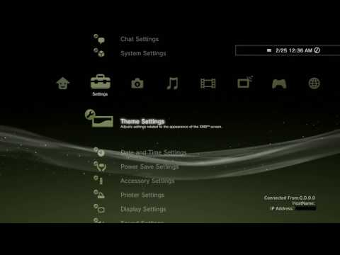 How to install custom PS3 themes VERY EASY (download included)