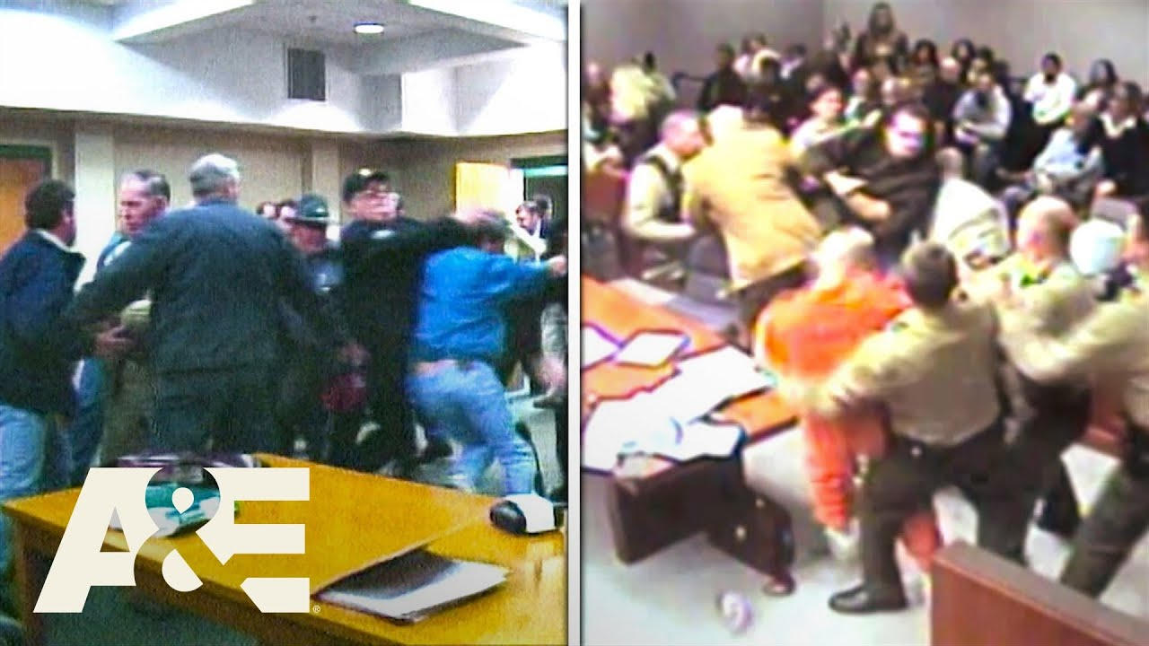 Court Cam: Courtroom Chaos - Top 5 Moments | A&E