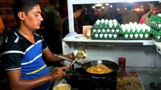 Ahmedabad Street Food: Omelette Center Ahmedabad (India) Video 1 ( Shot on Fujifilm X-T1)