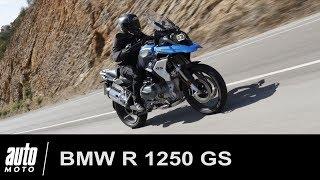 BMW R 1250 GS ESSAI POV du trail de luxe allemand Auto-Moto.com