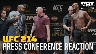 UFC 214 Press Conference Reaction - MMA Fighting