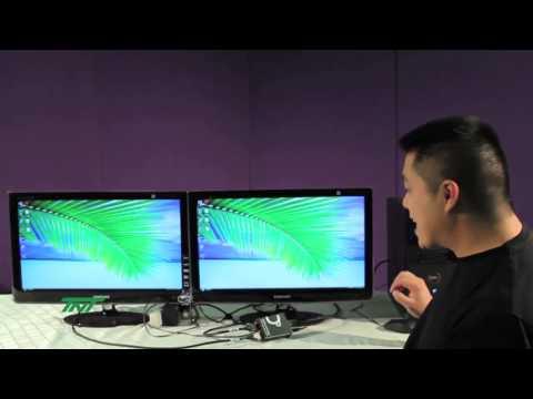 DISPLAYPORT TO TWO HDMI DISPLAYS 1x2 SPLITTER (R06-SPL-102-HD)