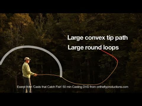 Fly Casting Essentials, Essential 5, Straight Line Path of the Rod Tip