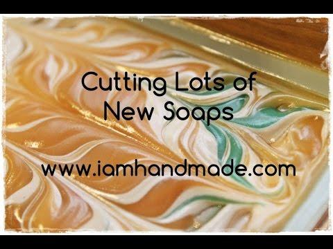 Cutting Lots of Soaps iamhandmade.com