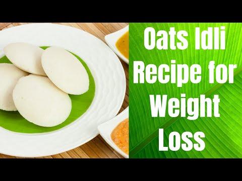 Oats Idli - Weight Loss Diet Recipe - Hindi