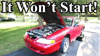 How to Start a Car That's Been Sitting for Years