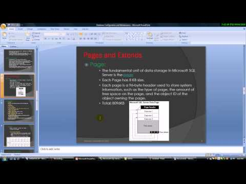 SQL Server 2005 : Database Configuration and Maintenance