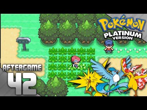 Pokemon Platinum Part 42 - Catching Zapdos, Articuno, and Moltres