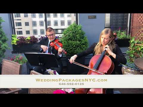 Cello Player & Violin for your Wedding Ceremony