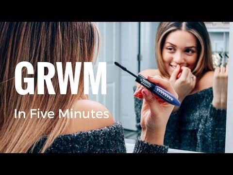 My Five Minute Drug Store Makeup Routine Ft L'oréal Paris | Winter Edition | Ashley Bloomfield
