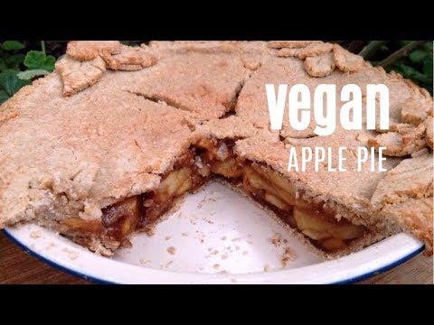 VEGAN APPLE PIE Recipe - Homemade, Irresistible & Gluten-Free