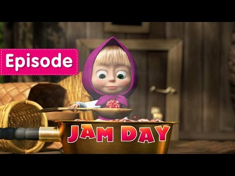 Masha and The Bear - Jam Day (Episode 6)