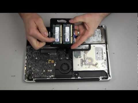MacBook Pro Upgrade 8GB RAM/Memory Tutorial