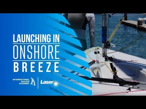 Laser Sailing: Launching in Onshore Breeze