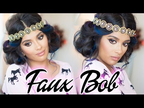Gatsby Inspired Faux Bob - Hair Tutorial