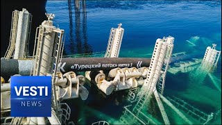 Gamechanger! Putin Finally Realizes Turkstream Dream - Gas Can Now Flow Through the Mediterranean!