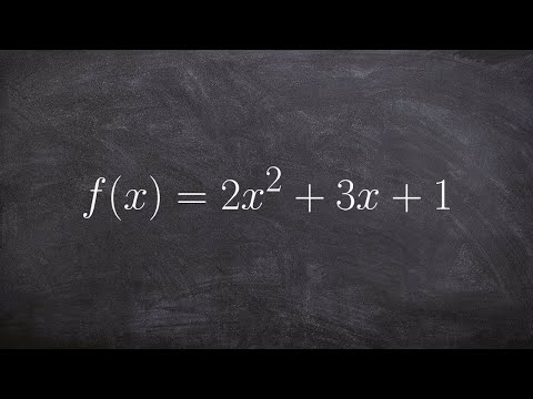 Determine the end behavior of a polynomial