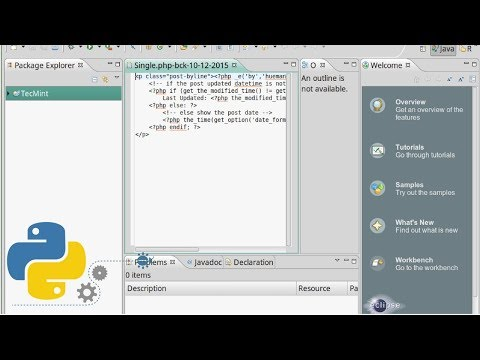 How To - Install Python and PyDev Plugin in Eclipse