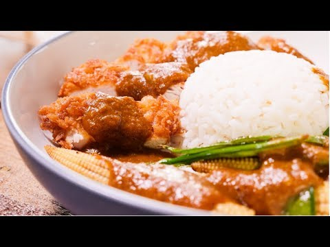 Chicken Katsu Curry Recipe | my virgin kitchen