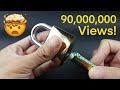 Como abrir un candado sin llave de manera facil   LabsJack