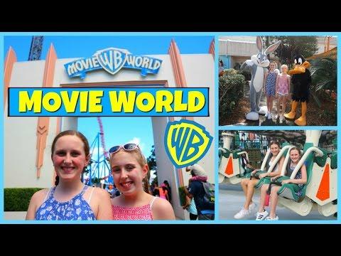 Theme Park Fun! Movie World - Vacation Vlog Day 3