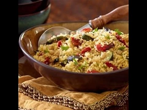 Easy Couscous with Roasted Tuscan Inspired Vegetables Recipe