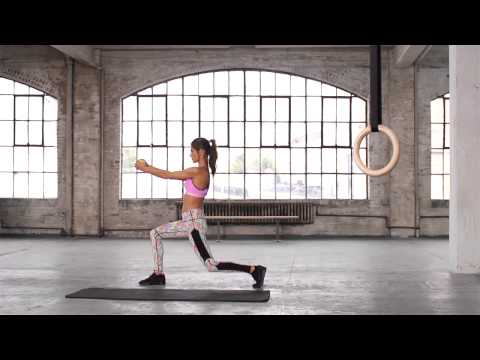 Train Like An Angel 2014:  Alessandra Ambrosio Full-Body Workout