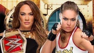 REAL REASON WWE Ronda Rousey vs Nia Jax WWE Money In The Bank 2018 RAW WWE NEWS BACKSTAGE REVEALED