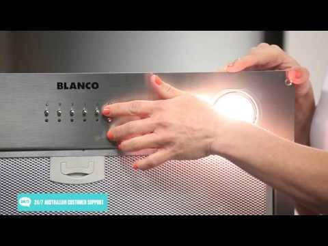 Blanco BRU53X Under Cupboard Rangehood reviewed by product expert - Appliances Online