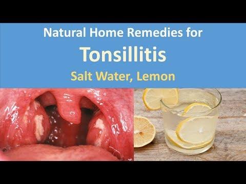 Natural Home Remedies for Tonsillitis|Salt Water, Lemon