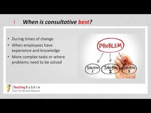 VCE Business Management - Management Styles pt2
