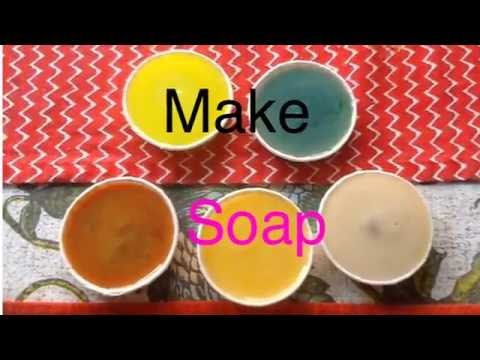 How to make soap (Oil+sodium Hydroxide)