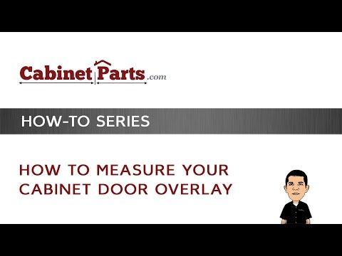 How to Measure Your Cabinet Door Overlay