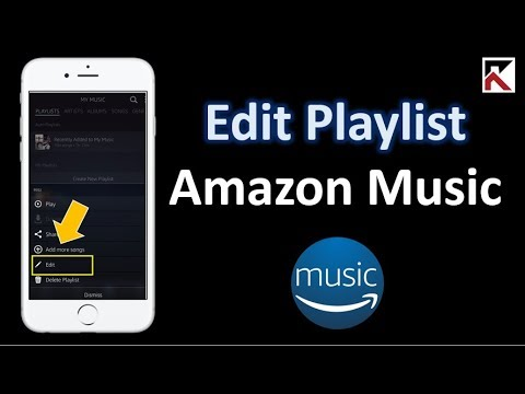How To Edit Playlist Amazon Music