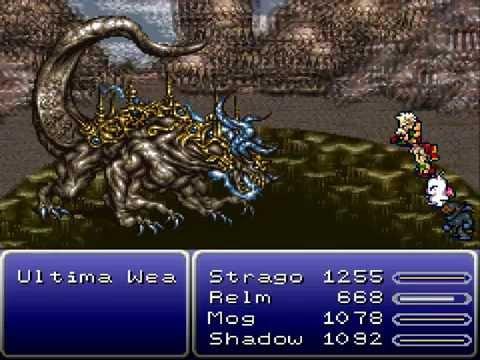 Final Fantasy VI - Ultima Weapon