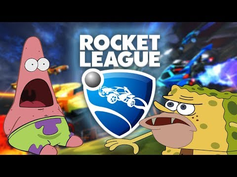 Rocket League but every time I score there's a meme #3