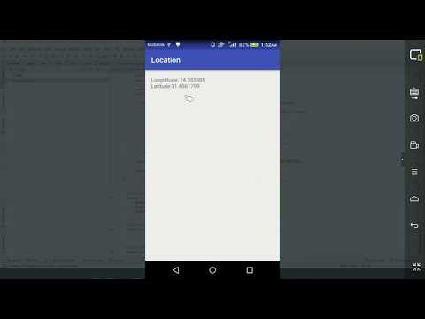 How to get Current Longitude And Latitude in Android