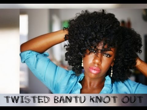 Twisted Bantu Knot Out Results