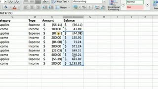 How To Make A Business Account Ledger In Excel Advanced Microsoft Exc