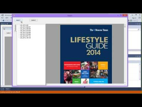 How to create a multi format document viewer using Gnostice XtremeDocumentStudio dot NET