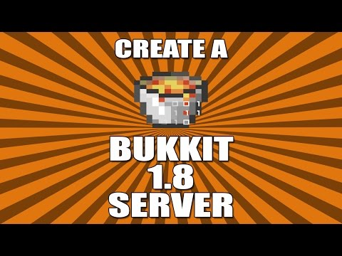 Download and Install Bukkit on ALL 1.8 versions - Minecraft Server