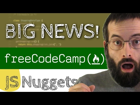 Partnering with freeCodeCamp