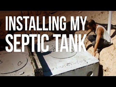 Installing My Septic Tank