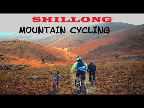 SHILLONG - mountain cycling